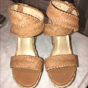 NEW! Stuart Weitzman Wedge Sandals NEW!